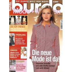 burda Moden 2/Februar 2002 - Die neue Mode ist da!