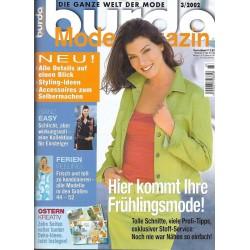 burda Moden 4/April 2003 - Hier kommt Ihre Frühlingsmode!