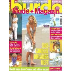 burda Moden 7/Juli 2000 - Das grosse Urlaubsheft