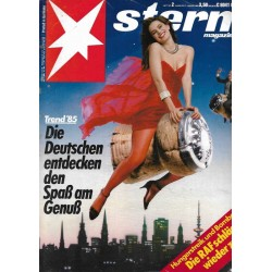 stern Heft Nr.2 / 3 Januar 1985 - Die Deutschen entdecken den Spaß