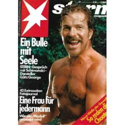 stern Heft Nr.42 / 10 Oktober 1985 - Ein Bulle mit Seele