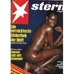 stern Heft Nr.16 / 13 April 1978 - Die verrückteste Diskothek
