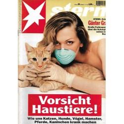 stern Heft Nr.34 / 17 August 1995 - Vorsicht Haustiere!