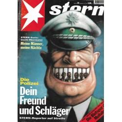 stern Heft Nr.39 / 22 September 1994 - Dein Freund und Schläger
