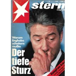 stern Heft Nr.19 / 6 Mai 1993 - Der tiefe Sturz