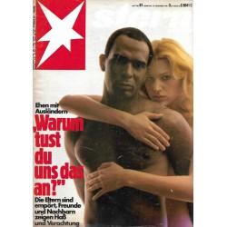 stern Heft Nr.51 / 10 Dez 1981 - Warum tust du uns das an?