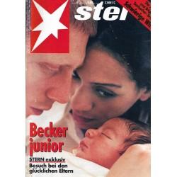 stern Heft Nr.5 / 27 Januar 1994 - Becker Junior