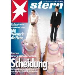 stern Heft Nr.18 / 25 April 1985 - Scheidung