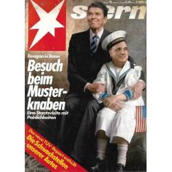stern Heft Nr.19 / 2 Mai 1985 - Besuch beim Musterknaben