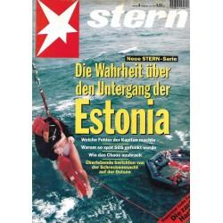 stern Heft Nr.8 / 16 Feb 1995 - Untergang der Estonia
