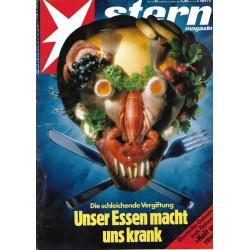 stern Heft Nr.42 / 11 Okt 1990 - Unser Essen