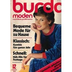 burda Moden 12/Dez 1979 - Bequeme Mode