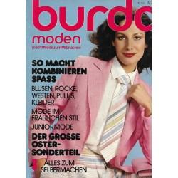 burda Moden 3/März 1978 - So macht kombinieren Spaß
