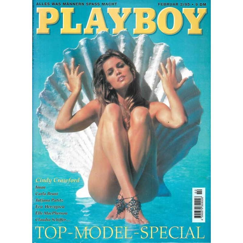 Playboy Nr.2 / Februar 1995 - Cindy Crawford
