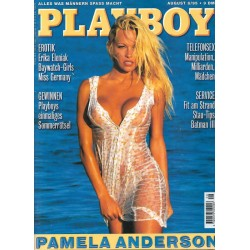 Playboy Nr.8 / August 1995 - Pamela Anderson