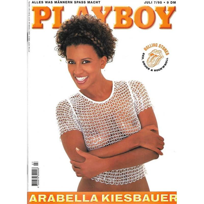 Playboy Nr.7 / Juli 1995 - Arabella Kiesbauer