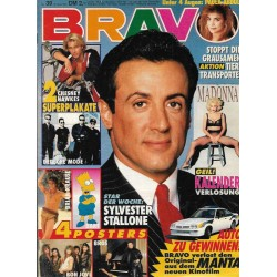 BRAVO Nr.39 / 19 September 1991 - Sylvester Stallone