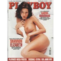 Playboy Nr.2 / Februar 2000 - Shannon Elizabeth