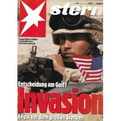 stern Heft Nr.8 / 14 Februar 1991 - Invasion