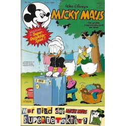 Micky Maus Nr. 44 / 23 Oktober 1986 - Super-Detektivspiel