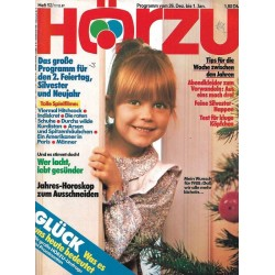 HÖRZU 52 / 26 Dez. bis 1 Jan. 1987 - Mein Wunsch für 1988