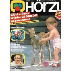 HÖRZU 31 / 6 bis 12 August 1983 - Filmspaß