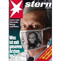 stern Heft Nr.23 / 30 Mai 1985 - Schwindel, Betrug & Pleiten
