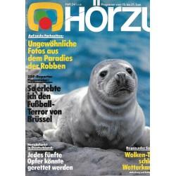 HÖRZU 24 / 15 bis 21 Juni 1985 - Paradies der Robben