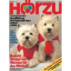 HÖRZU 47 / 22 bis 28 November 1986 - Braucht Struppi was Warmes?
