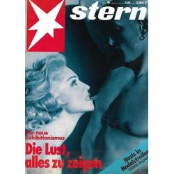 stern Heft Nr.46 / 5 November 1992 - Die Lust, alles zu zeigen