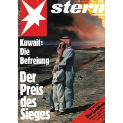 stern Heft Nr.11 / 7 März 1991 - Kuwait: Die Befreiung