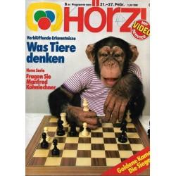 HÖRZU 8 / 21 bis 27 Februar 1981 - Was Tiere denken