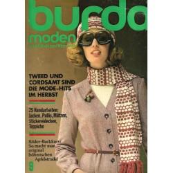 burda Moden 9/September 1974 - Tweed und Cordsamt