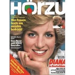 HÖRZU 44 / 31 Okt. bis 6 Nov. 1987 - Diana in Deutschland