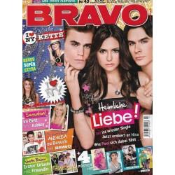 BRAVO Nr.43 / 20 Oktober 2010 - Heimliche Liebe!