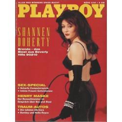 Playboy Nr.3 / März 1994 - Shannen Doherty
