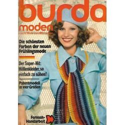 burda Moden 2/Februar 1975 - Neue Frühlingsmode