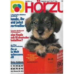 HÖRZU 32 / 11 bis 17 August 1984 - Wertvolle Hunde!