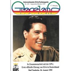 Graceland Nr.105 September/Oktober 1995 - Ehrung von Elvis