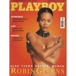 Playboy Nr.9 / September 1994 - Robin Givens