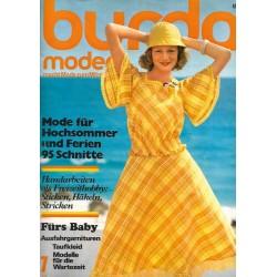 burda Moden 7/Juli 1975 - Mode für Hochsommer
