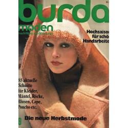 burda Moden 9/September 1975 - Die neue Herbstmode