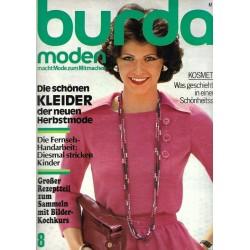 burda Moden 8/August 1975 - Die schönen Kleider der...