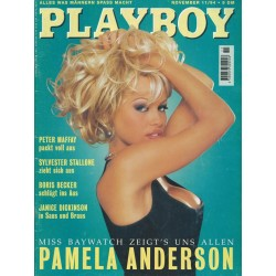 Playboy Nr.11 / November 1994 - Pamela Anderson