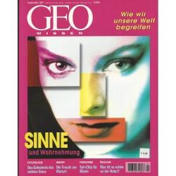 Geo Wissen September 1997 - Sinne und Wahrnehmung
