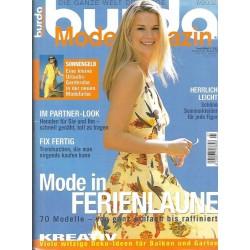 burda Moden 7/Juli 2002 - Mode in Ferienlaune