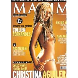 MAXIM Februar 2003 - Christina Aguilera