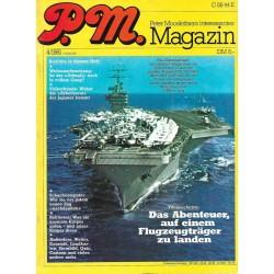 P.M. Ausgabe April 4/1981 - Flugzeugträger
