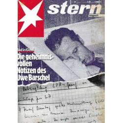 stern Heft Nr.44 / 22 Oktober 1987 - Tod in Genf