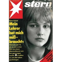 stern Heft Nr.44 / 24 Oktober 1991 - Tatort Schule